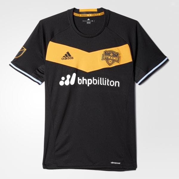 Dynamo Away Replica Jersey Black AB9403