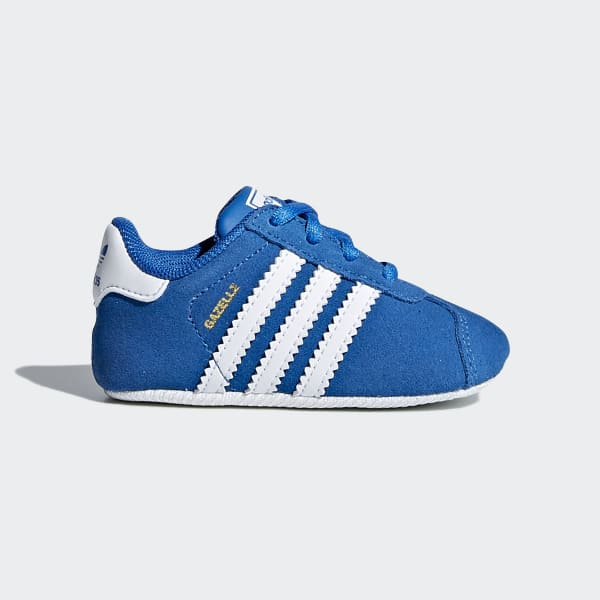 Gazelle Crib Shoes Blue CM8229