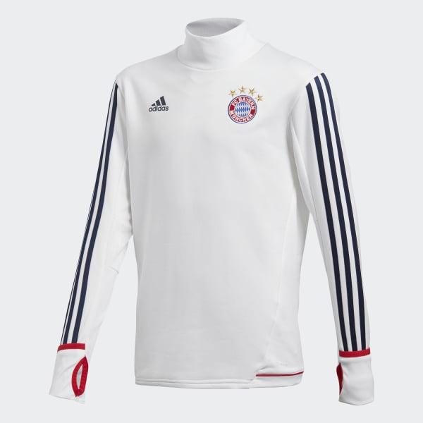 Sudadera entrenamiento FC Bayern de Múnich Blanco BQ4604