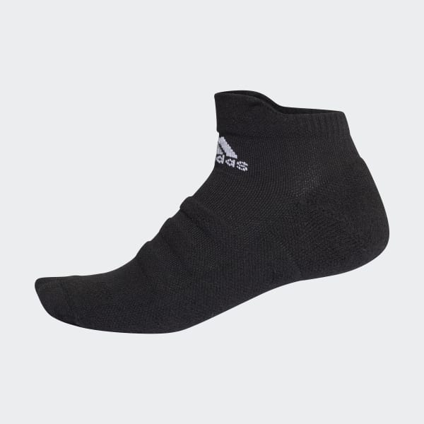 Alphaskin Lightweight Cushioning Ankle Socks Black CG2655