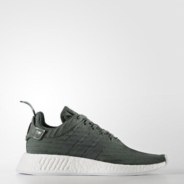 Chaussure NMD_R2 vert BA7261