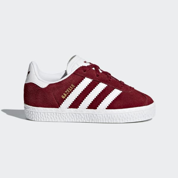 Chaussure Gazelle rouge CQ2925