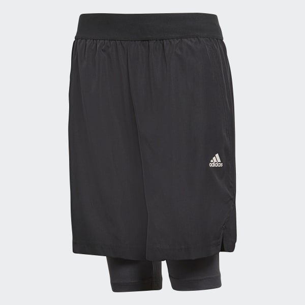 Football 2-in-1 Short zwart CF6977