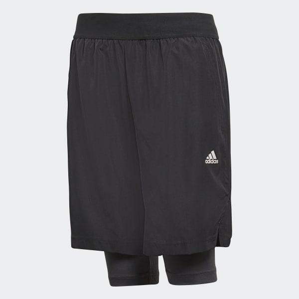 Football 2-in-1 Shorts Black CF6977