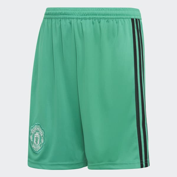 Manchester United Home Goalkeeper Shorts Green CG0073