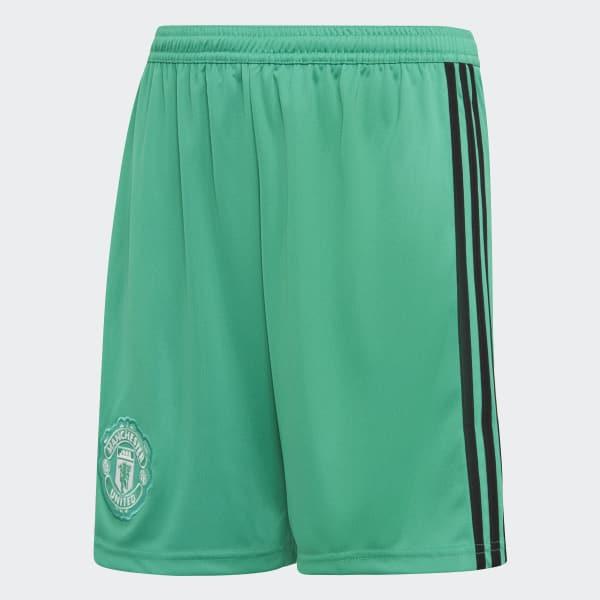 Manchester United Keepersshort Thuis groen CG0073