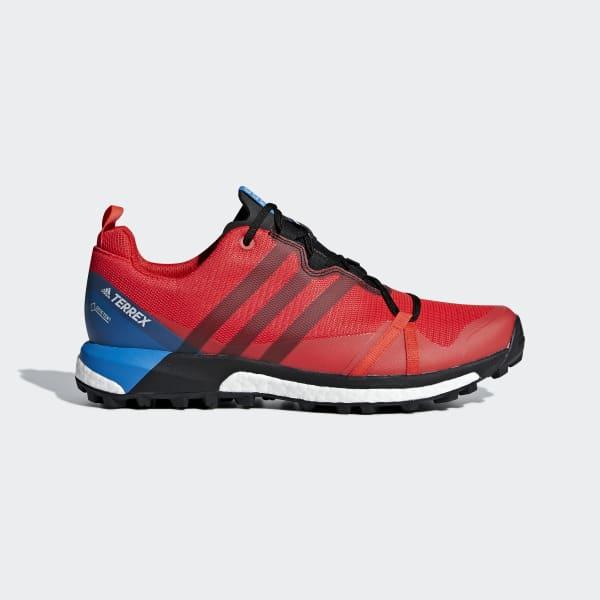 Chaussure Terrex Agravic GTX rouge AC7767