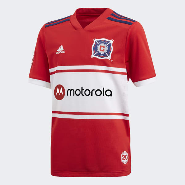 Chicago Fire Home Replica Jersey Red CD3635