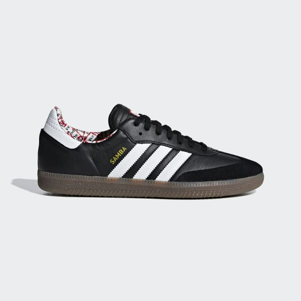 HAGT Samba Schoenen zwart BD7362