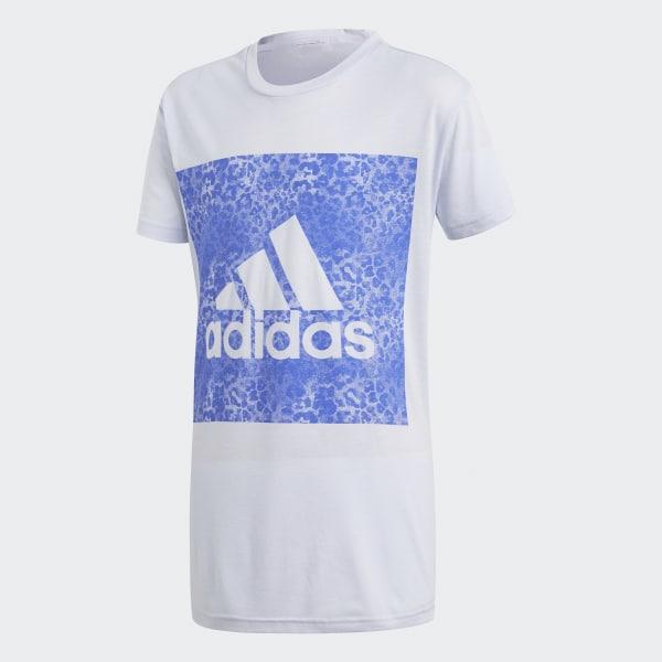 Essentials Logo in the Box T-Shirt blau CF7250