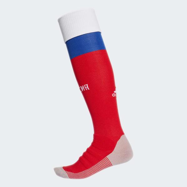Russland Heimsocken, 1 Paar rot CD8863