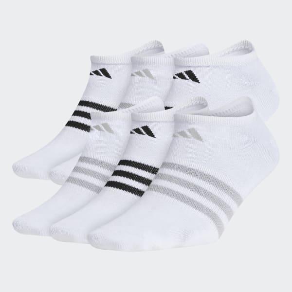 Superlite No-Show Socks 6 Pairs Multicolor CK0644