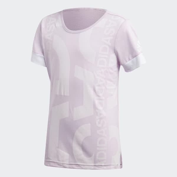 Camiseta ID Lineage Graphic Rosa CF6733