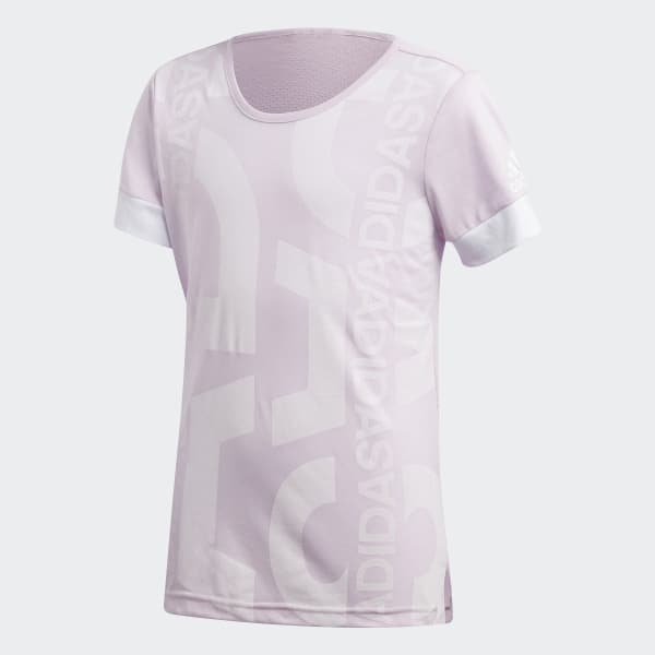 ID Lineage Graphic Tee Pink CF6733