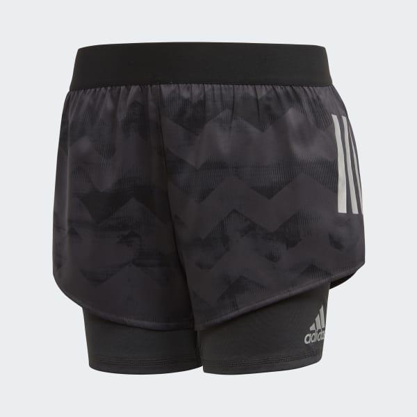 Pantalón corto Run Gris CF7233
