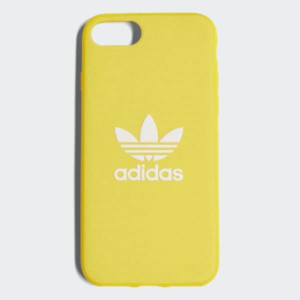 Adicolor Snap Case iPhone 8 Yellow CJ6176