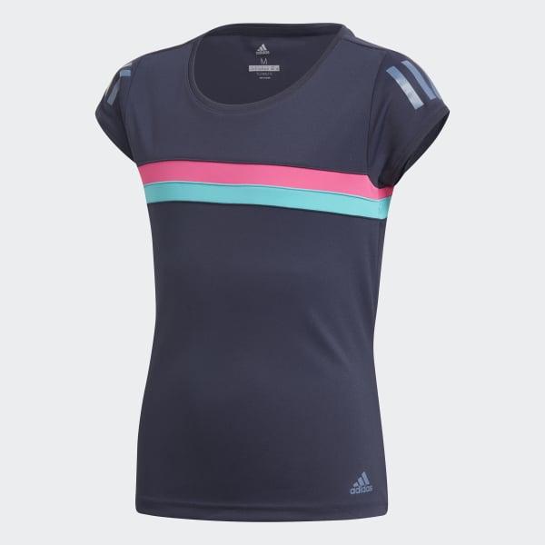 Club T-shirt blauw DH2809