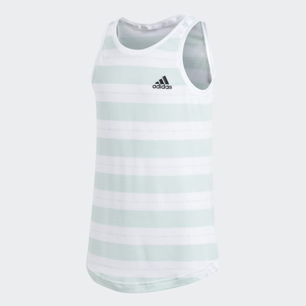 Camiseta de tirantes ID Stripes Blanco CF6737