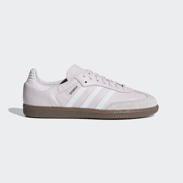 Samba OG Schoenen paars AQ1060