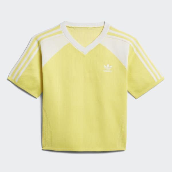T-shirt Soccer Giallo DU6979