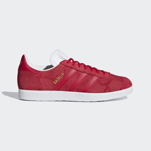 Tenis Gazelle W BOLD RED/BOLD RED/FTWR WHITE B41656