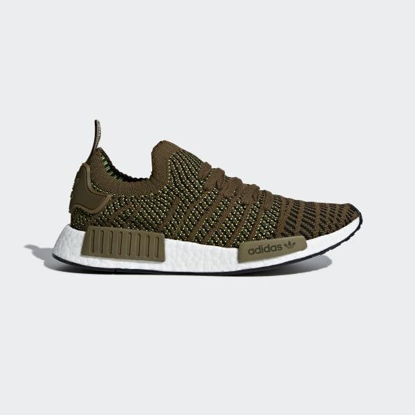 NMD_R1 STLT Primeknit Shoes Green CQ2389