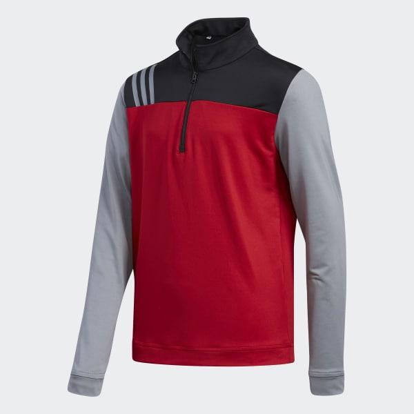 Sweat-shirt Layering rouge CY6454