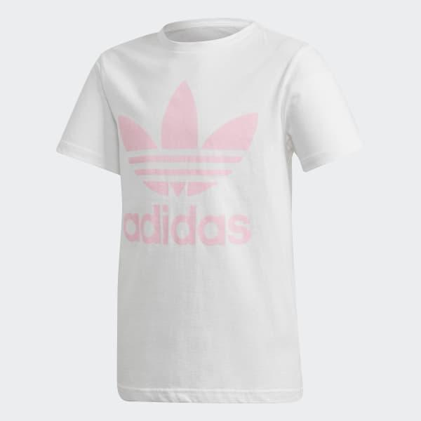 Trefoil T-shirt wit DH2475