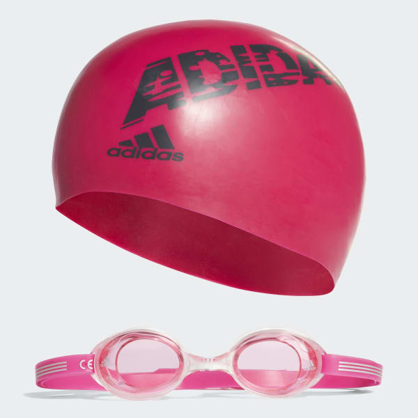 Set per il nuoto adidas Rosa AB6070