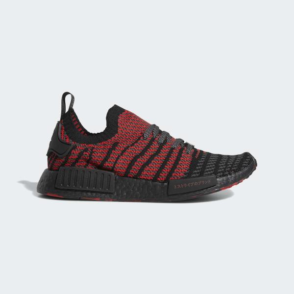 NMD_R1 Primeknit Shoes Black D96817