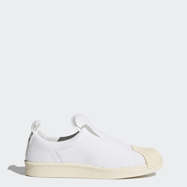 Scarpe Superstar BW Slip-on Bianco BY2949