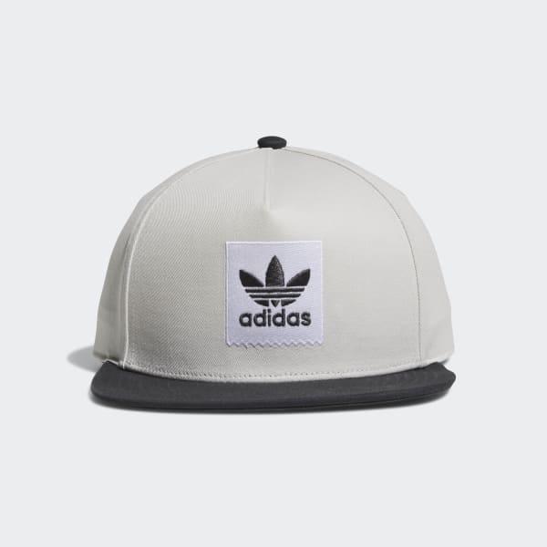 Two-Tone Blackbird Snapback Hat Grey CE2612