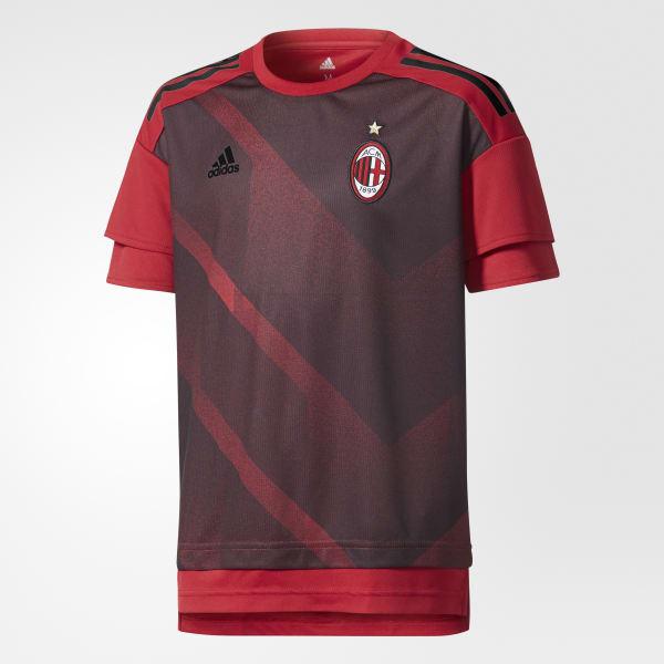 Maglia Home Pre-Match AC Milan Rosso BS2567