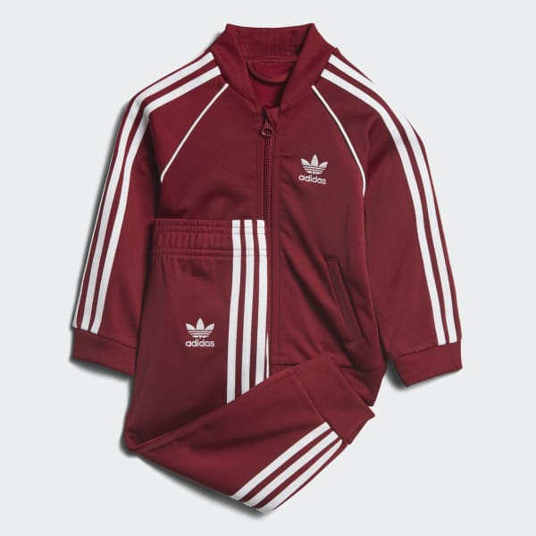 SST Track Suit Red CE1976