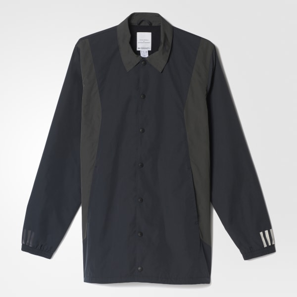 White Mountaineering Long Bench Jacket Black AY3114
