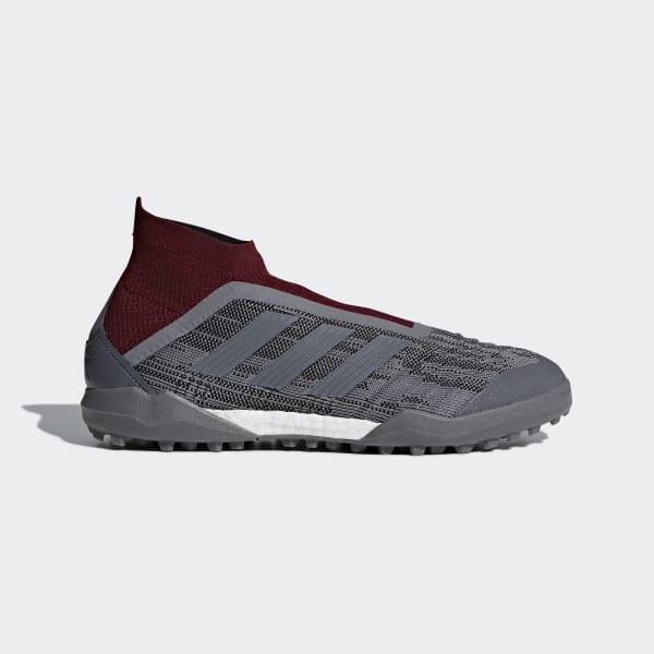 Zapatos de Fútbol Paul Pogba Predator 18+ Césped Artificial Rojo AC7456