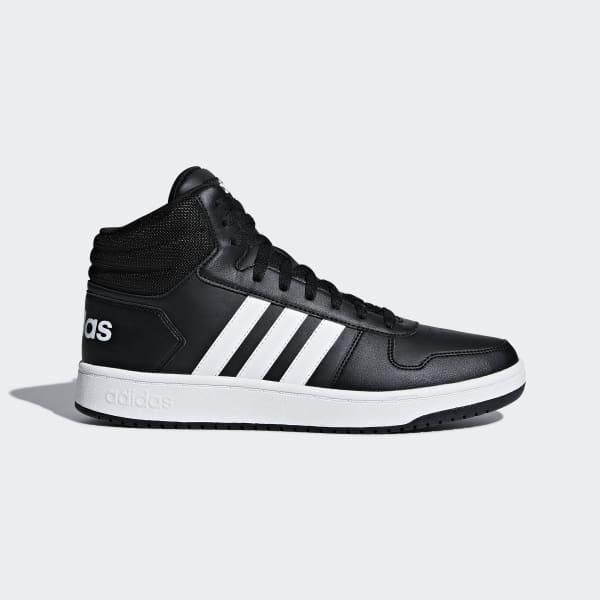 VS Hoops Mid 2.0 Schoenen zwart BB7207