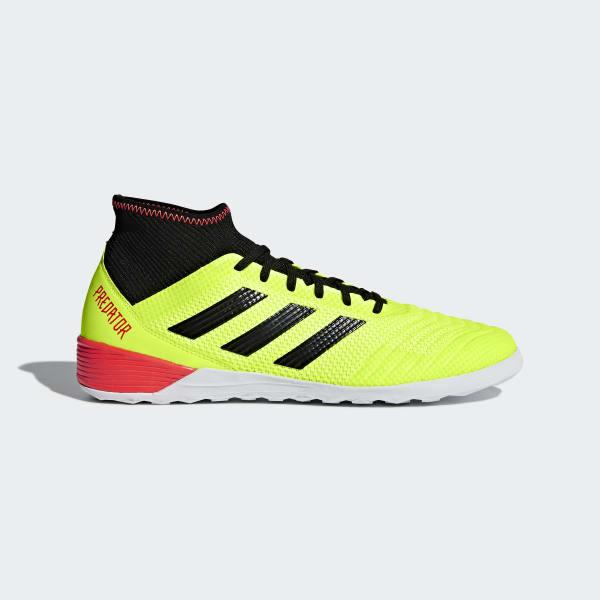Zapatos de Fútbol Predator Tango 18.3 Bajo Techo Amarillo DB2126