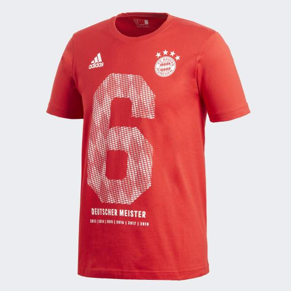 FC Bayern Winner Tee Red DZ0064
