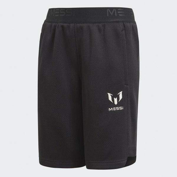 Pantalón corto Messi Knit Negro CF7022