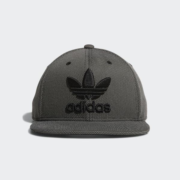 Trefoil Plus Snapback Hat Black CI7694