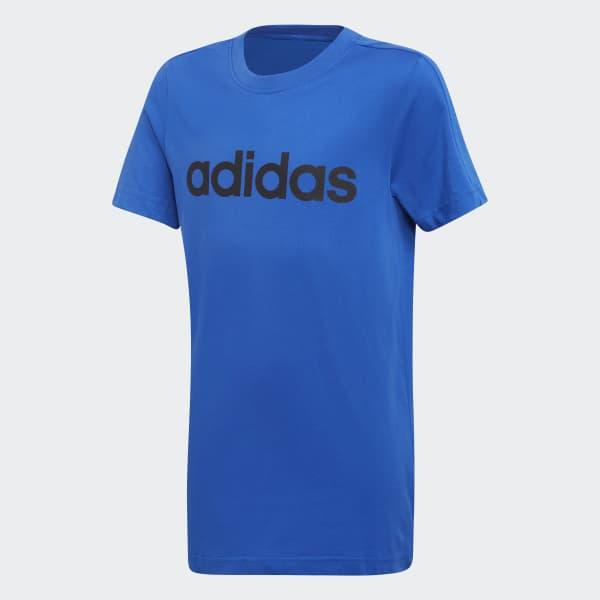 Camiseta Essentials Linear Azul DJ1767