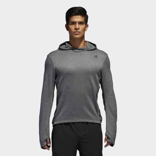 Sweat-shirt à capuche Response Astro gris BK3147