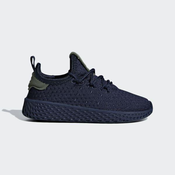 Pharrell Williams Tennis Hu Shoes Collegiate Navy / Collegiate Navy / Off White B37114