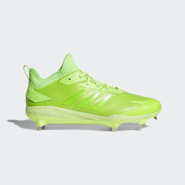 Adizero Afterburner V Dipped Cleats Green AQ0093