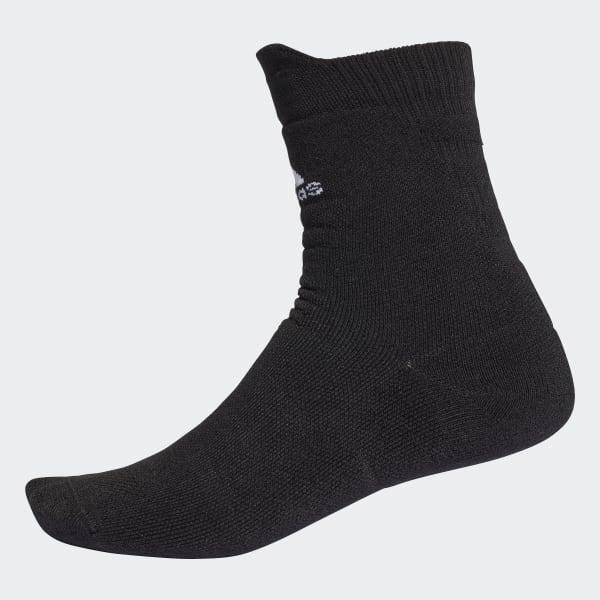 Alphaskin Maximum Cushioning Crew Socks Black CG2654