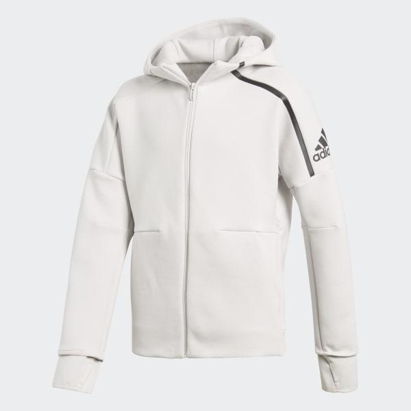 adidas Z.N.E. Kapuzenjacke weiß CW0640
