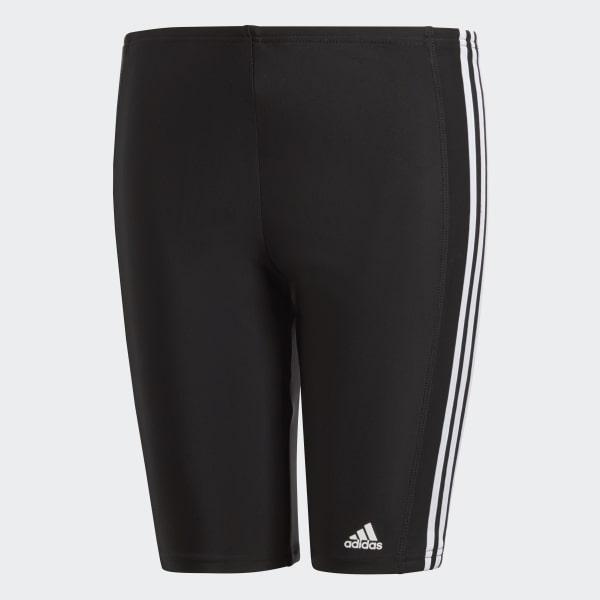 adidas 3-Stripes Lange Zwembroek zwart BP9505