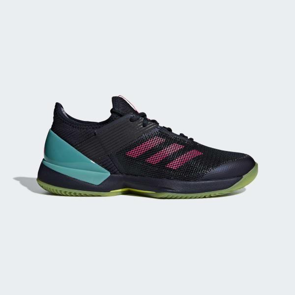 adizero Ubersonic 3.0 Clay Schuh blau AH2150