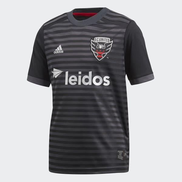 D.C. United Home Jersey Black CE6280